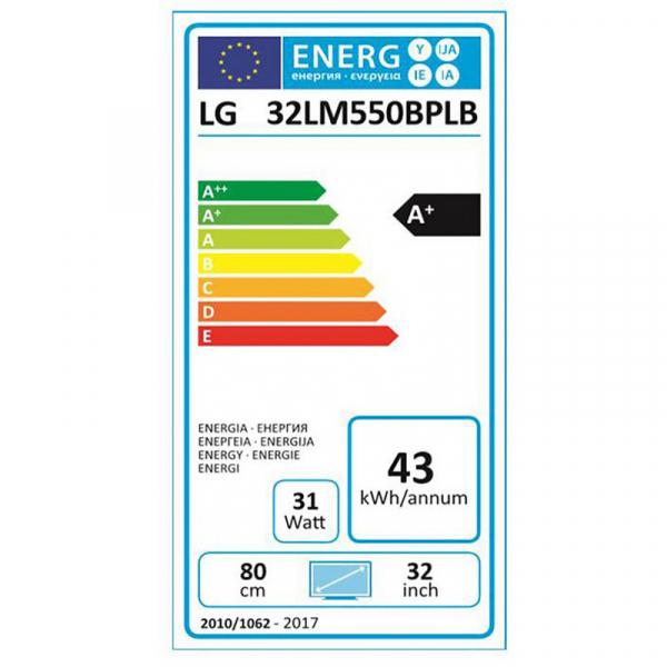 Televizor LED LG 32LM550BPLB, 80cm, negru, HD Ready 8