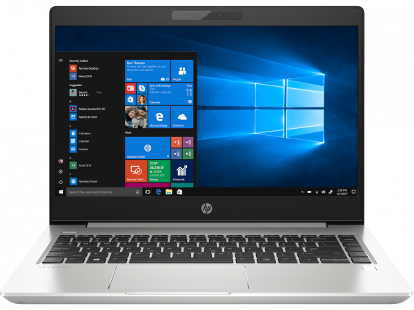 "Laptop ultraportabil HP ProBook 440 G6 cu procesor Intel® Core™ i5-8265U pana la 3.90 GHz Whiskey Lake, 14"", 8GB, 256 GB SSD, Intel® UHD Graphics 620, Free DOS 3.0, Silver, 6BP78EA 0"