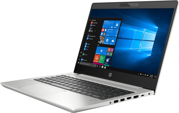 "Laptop ultraportabil HP ProBook 440 G6 cu procesor Intel® Core™ i5-8265U pana la 3.90 GHz Whiskey Lake, 14"", 8GB, 256 GB SSD, Intel® UHD Graphics 620, Free DOS 3.0, Silver, 6BP78EA 1"