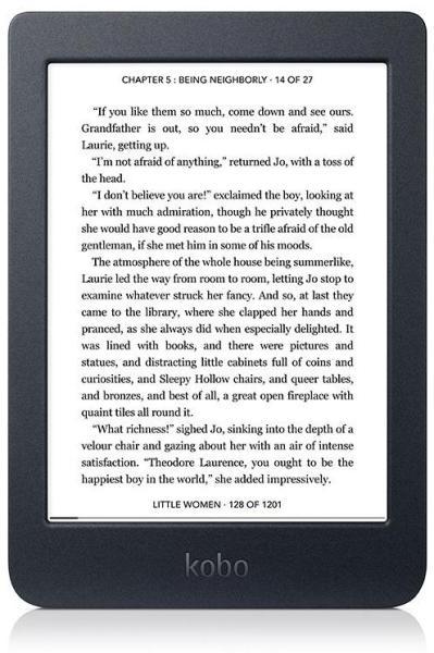 "Resigilat - eBook Reader KOBO Nia, 6"", 8GB, Negru [0]"