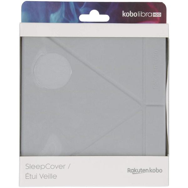 Husa Kobo SleepCover Libra H2O Gris (N873-AC-GY-E-PU) 4