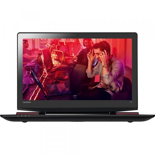 """Resigilat - Laptop Gaming Lenovo IdeaPad Y700-15ISK cu procesor Intel® Core™ i7-6700HQ 2.60GHz, Skylake, 15.6"""", Full HD, 8GB, 1TB HDD, nVIDIA GeForce GTX 960M 4GB, Windows 10 Home, Black 1"""