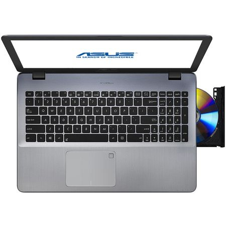 "Resigilate-Laptop ASUS VivoBook Max F542UN-DM127 cu procesor Intel® Core™ i5-8250U pana la 3.40 GHz, Kaby Lake R, 15.6"", Full HD, 8GB, 256GB SSD, NVIDIA GeForce MX150 4GB, Endless OS, Dark Grey 5"