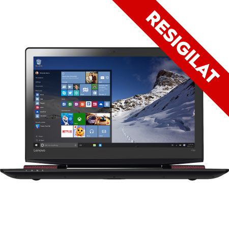 "Laptop Gaming Lenovo IdeaPad Y700-15 (80NV00TURI) cu procesor Intel® Core™ i7-6700HQ 2.60GHz, Skylake, 15.6"", Full HD, IPS, 16GB, 1TB + 512GB SSD, DVD-RW, nVIDIA GeForce GTX 960M 4GB, Microsoft Windows 10 Home, Black 0"