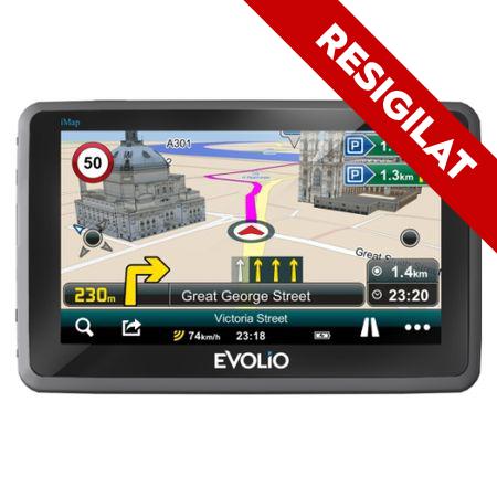 "Resigilat - Sistem de navigatie Evolio Preciso HD, diagonala 5.0"", harta Full Europe [0]"