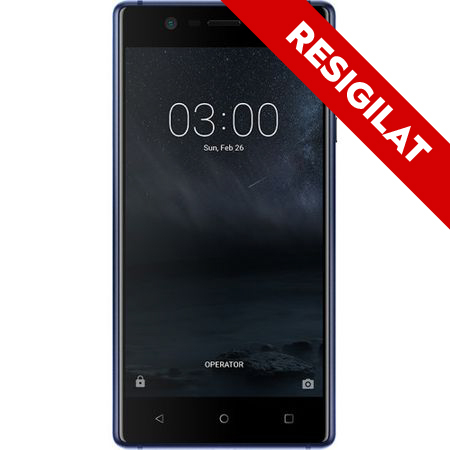 Telefon mobil Nokia 3, Dual SIM, 16GB, Tempered Blue 0