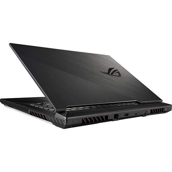 "Laptop Gaming ASUS ROG Strix G G531GV-AL027, Intel Core i7-9750H pana la 4.5GHz, 15.6"" Full HD, 16GB, SSD 512GB, NVIDIA GeForce RTX 2060 6GB, Free Dos, Negru 1"