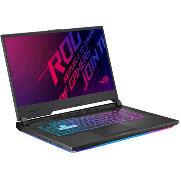 "Laptop Gaming ASUS ROG Strix G G531GV-AL027, Intel Core i7-9750H pana la 4.5GHz, 15.6"" Full HD, 16GB, SSD 512GB, NVIDIA GeForce RTX 2060 6GB, Free Dos, Negru 3"
