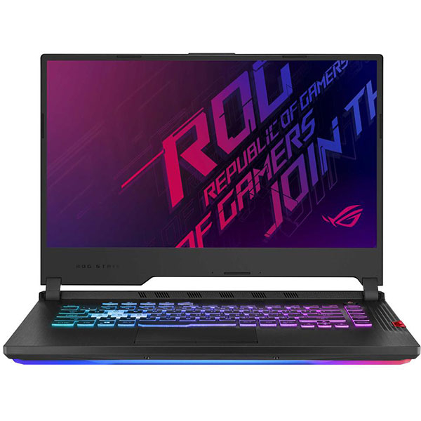 "Laptop Gaming ASUS ROG Strix G G531GV-AL027, Intel Core i7-9750H pana la 4.5GHz, 15.6"" Full HD, 16GB, SSD 512GB, NVIDIA GeForce RTX 2060 6GB, Free Dos, Negru 0"