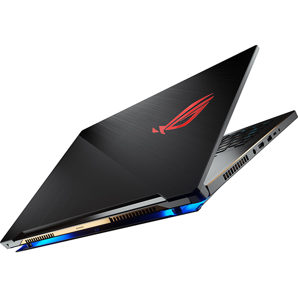 Laptop ASUS ROG Zephyrus S GX701GWR-EV053T, Intel Core i7-9750H, 17.3inch, RAM 16GB, SSD 1TB, nVidia GeForce RTX 2070 8GB, Windows 10, Black 2