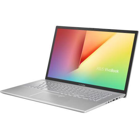 "Laptop ASUS VivoBook 17 M712DA-AU100 cu procesor  AMD Ryzen 5 3500U pana la 3.70 GHz, 17.3"", Full HD, 8GB, 512GB SSD, AMD Radeon™ Vega 8 Graphics, Free DOS, Transparent Silver 1"