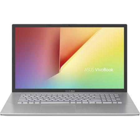 "Laptop ASUS VivoBook 17 M712DA-AU100 cu procesor  AMD Ryzen 5 3500U pana la 3.70 GHz, 17.3"", Full HD, 8GB, 512GB SSD, AMD Radeon™ Vega 8 Graphics, Free DOS, Transparent Silver 0"