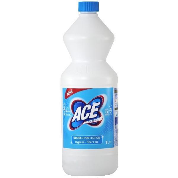 Inalbitor / Clor pentru rufe albe Ace clasic universal 1 L (MET0001) 0