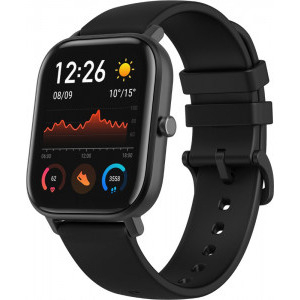Ceas smartwatch Amazfit GTS, Obsidian Black 1
