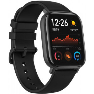 Ceas smartwatch Amazfit GTS, Obsidian Black 2