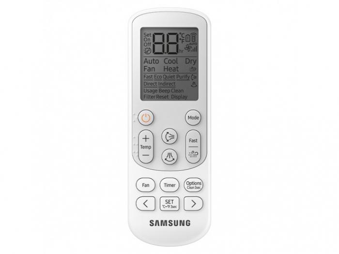 Aparat de aer conditionat Samsung AR12TXFCAWKNEU/AR12TXFCAWKXEU, Wind Free Confort, 12000 btu, SmartThings (Wi-Fi), Dezumidificare [11]