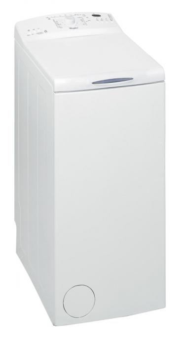 Masina de spalat rufe cu incarcare verticala Whirlpool AWE 66710, 6th Sense, 6 kg, 1000 RPM, Clasa A+++, Alb 0
