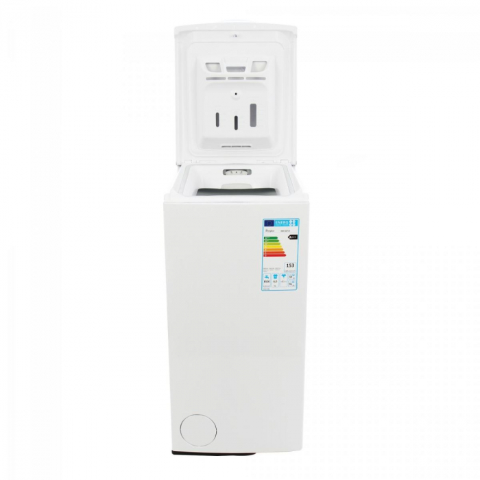 Masina de spalat rufe cu incarcare verticala Whirlpool AWE 66710, 6th Sense, 6 kg, 1000 RPM, Clasa A+++, Alb 1