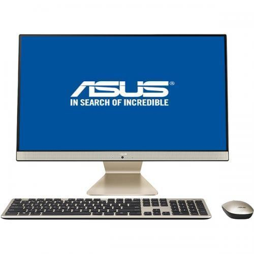 "Sistem All-in-One ASUS V241FAK-BA089R cu procesor Intel® Core™ i7-8565U pana la 4.60 GHz, Whiskey Lake, 23.8"", Full HD, IPS, 8GB DDR4, 512GB SSD, NVIDIA® GeForce® MX130 2GB, Windows 10 Pro, Black, Mouse + Tastatura 0"