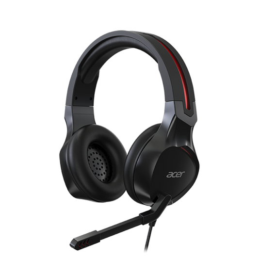 Casti Gaming Acer Nitro NP.HDS1A.008, Microfon (Negru) 0