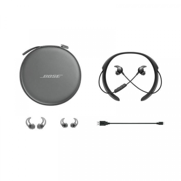 Casti in-ear BOSE QuietControl 30 cu microfon (quietcontrol30-bk), Wireless, Noise Canceling, Negre 6
