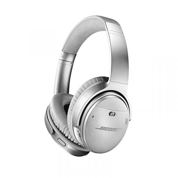 Casti wireless cu anularea zgomotului Bose Quiet Comfort 35 II, Silver, 789564-0020 1