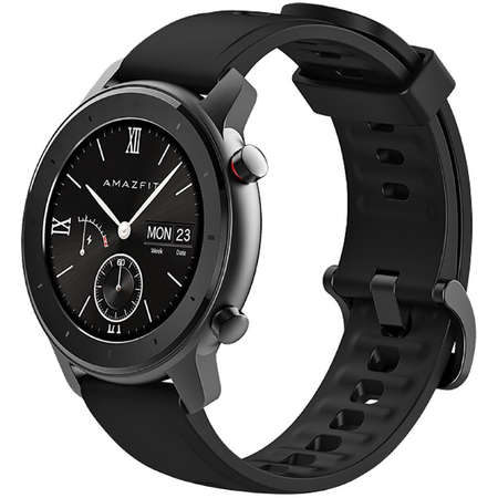 Ceas smartwatch Amazfit GTR, 42mm, Starry Black 1