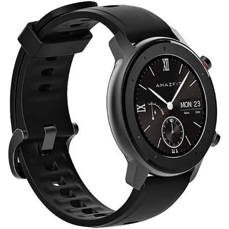 Ceas smartwatch Amazfit GTR, 42mm, Starry Black 2