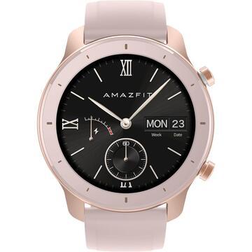 Ceas smartwatch Amazfit GTR, 42mm, Cherry Blossom Pink 0