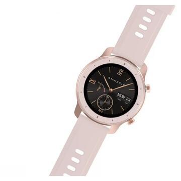 Ceas smartwatch Amazfit GTR, 42mm, Cherry Blossom Pink 2