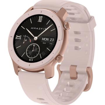 Ceas smartwatch Amazfit GTR, 42mm, Cherry Blossom Pink 3