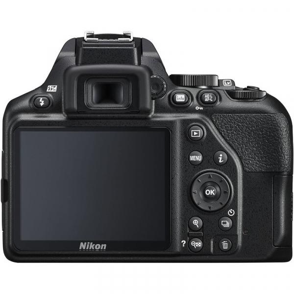 Aparat foto DSLR Nikon D3500, 24.2MP, Negru + Obiectiv AF-P 18-55mm VR 5