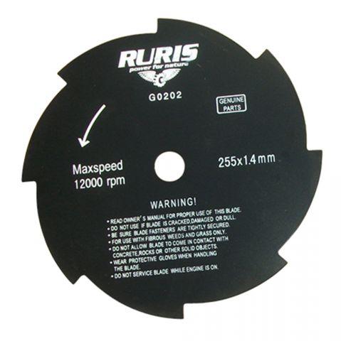 Disc de tuns iarba cu 8 tăișuri, Ruris, PS409S-1-40 [0]