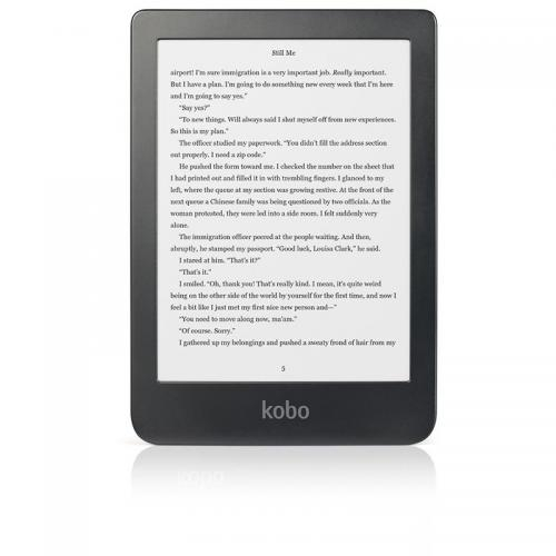 eBook Reader Kobo Clara N249-KU-BK-K-EP 6inch, 8GB, Black 0