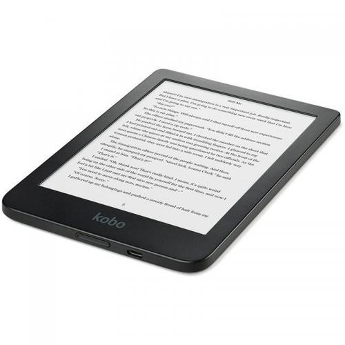 Resigilat - eBook Reader Kobo Clara N249-KU-BK-K-EP 6inch, 8GB, Black [2]