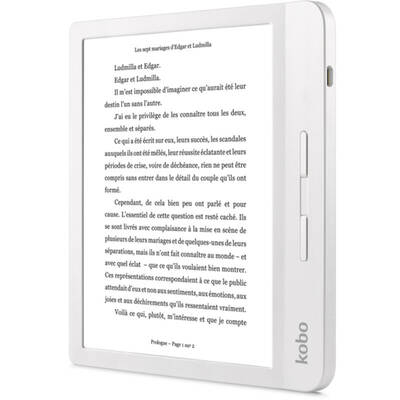 "eBook Reader Kobo Libra H2O, 7"", 8GB, Wi-Fi, White 2"