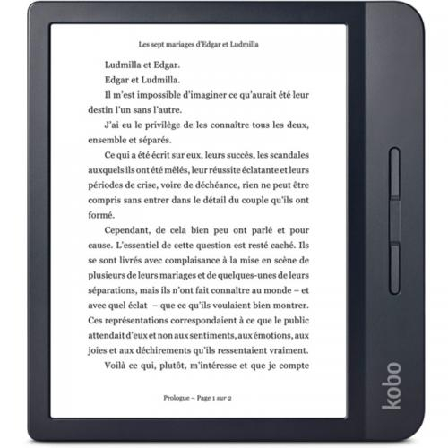 eBook Reader Kobo Libra H2O N873-KU-BK-K-EP 7inch, 8GB, Black 0