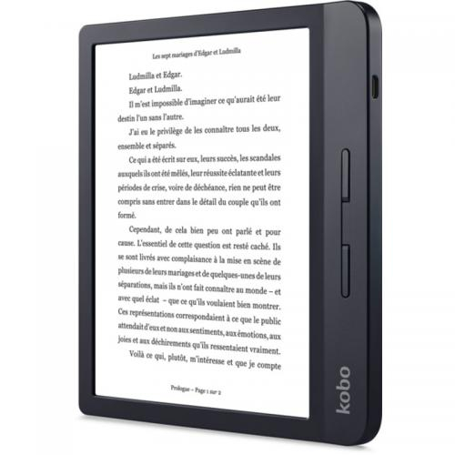 eBook Reader Kobo Libra H2O N873-KU-BK-K-EP 7inch, 8GB, Black 2