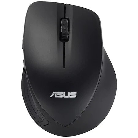 Mouse optic ASUS WT465, Wireless, USB, Negru, 90XB0090-BMU040 0