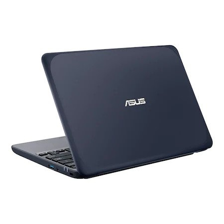 "Laptop ASUS W202, 11.6""HD cu procesor Intel Celeron N3350 (2M Cache, 1.1 GHz up to 2.4 GHz, 2C/2T), Intel HD Graphics 500, RAM 4GB, eMMC 64GB, no ODD,Dark Blue, Windows 10 4"