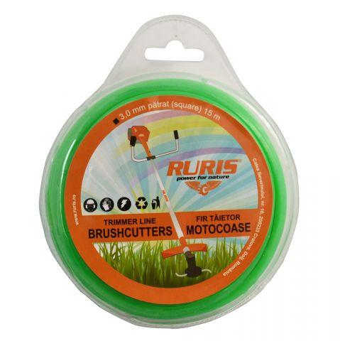 Fir trimmer 3 mm (pătrat) 15m, Ruris, 6-178 [0]
