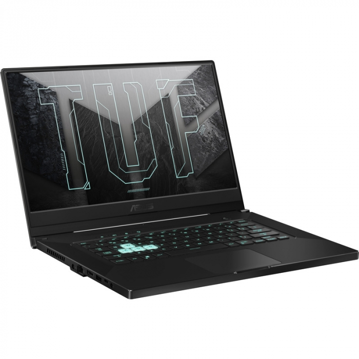 Laptop ASUS Gaming 15.6'' TUF Dash F15 FX516PC-HN003, FHD 144Hz, Procesor Intel® Core™ i5-11300H (8M Cache, up to 4.40 GHz, with IPU), 16GB DDR4, 512GB SSD, GeForce RTX 3050 4GB, No OS, Eclipse Gray [6]
