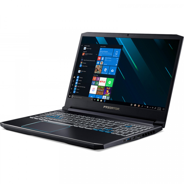 Notebook / Laptop Acer Gaming 15.6'' Predator Helios 300 (NH.Q54EX.01E) PH315-52, FHD IPS 144Hz, Procesor Intel® Core™ i7-9750H (12M Cache, up to 4.50 GHz), 32GB DDR4, 1TB SSD, GeForce RTX 2060 6GB, W 7