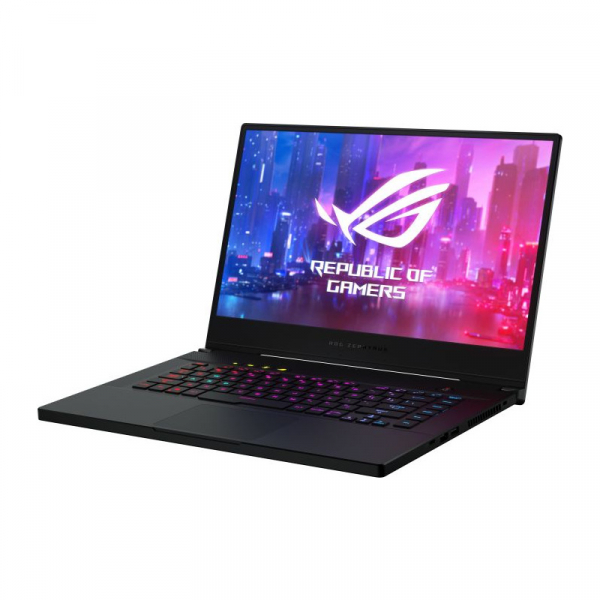Laptop ASUS ROG Zephyrus S GX502GW-AZ130T, Intel Core i7-9750H, 15.6inch, RAM 16GB, SSD 512GB, nVidia GeForce RTX 2070 8GB, Windows 10, Black 4