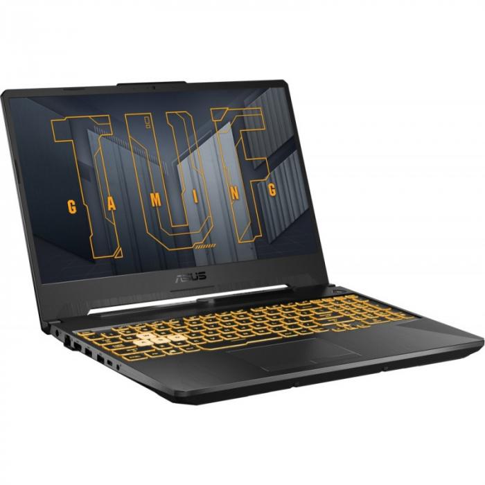 "Laptop Gaming Asus TUF F15 FX506HC-HN002, Intel Core i5-11400H, 15.6"", 8GB, 512GB SSD, GeForce RTX 3050 4GB, No OS, Eclipse Gray [2]"