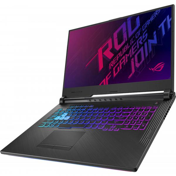 """Laptop Gaming Asus ROG G731GW-EV061 cu procesor Intel® Core™ i7-9750H pana la 4.5 GHz, 17.3"""", Full HD, 144 Hz, 16GB, 512GB SSD M.2, NVIDIA® GeForce RTX™ 2070 8GB, Black 1"""