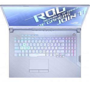 Laptop ASUS Gaming 17.3'' ROG Strix G17 G712LU-H7023, FHD 120Hz, Procesor Intel® Core™ i7-10750H (12M Cache, up to 5.00 GHz), 16GB DDR4, 512GB SSD, GeForce GTX 1660 Ti 6GB, Free DOS, Glacier Blue 2