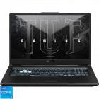 Laptop ASUS Gaming 17.3'' TUF F17 FX706HCB-HX145, FHD 144Hz, Procesor Intel® Core™ i5-11400H (12M Cache, up to 4.50 GHz), 8GB DDR4, 512GB SSD, GeForce RTX 3050 4GB, No OS, Graphite Black [0]
