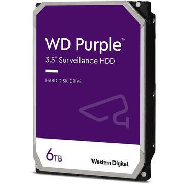 HDD Western Digital Purple Surveillance 6TB SATA-III 5640RPM 128MB bulk [0]