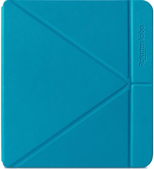 Husa de protectie Kobo Libra H2O Sleep Cover, aqua, N873-AC-AQ-E-PU 1